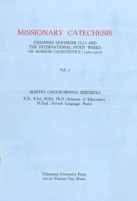Missionary Catechesis Vol. II