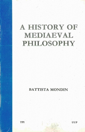 A History of Mediaeval Philosophy